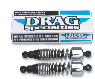 Drag Specialties 11 Inch Shocks for Dyna Glide 1991 - present