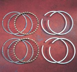 Hastings Piston Rings - +.010 Size - Evo Engines 1984 - 1999