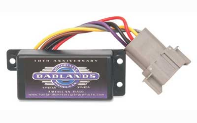 Badlands Plug In Automatic Turn Signal Canceler for 1994 - 2000 Big Twins & Sportster Models - 12 Pin