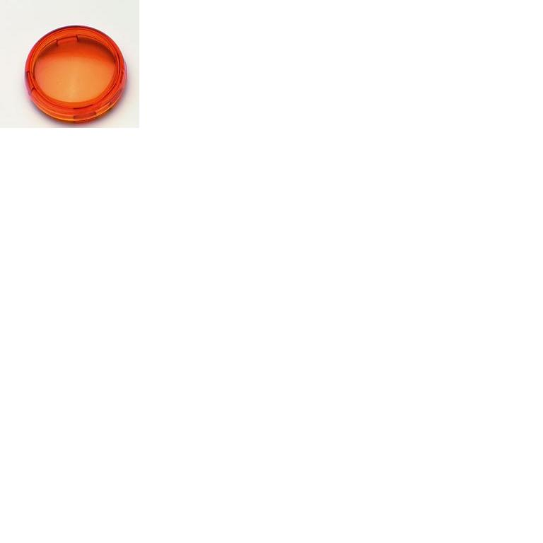 Drag Specialties Replacement Turn Signal Lens - Amber