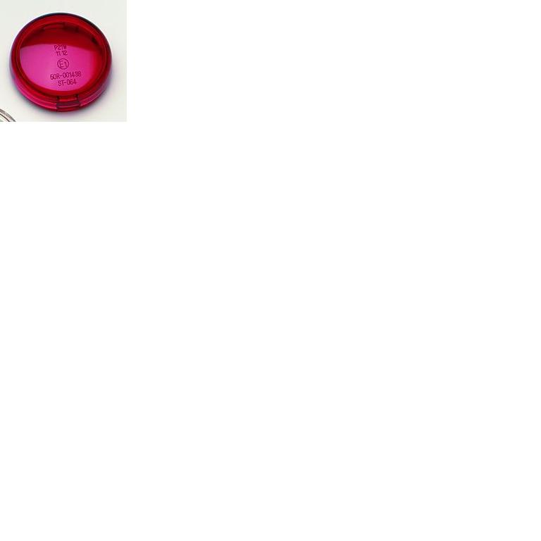 Drag Specialties Replacement Turn Signal Lens - Red