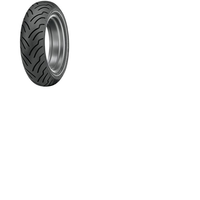 Dunlop American Elite Premium Replacement Tires - Front - 130/80B17 Narrow White Stripe Sidewall