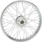 Drag Specialties Replacement Front Laced Wheel for 2004 - 2005 FXD/B/C/L - 21 Inch x 2.15 Inch