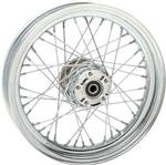 Drag Specialties Replacement Rear Laced Wheel for 2000 - 2006 Softails & FXD - 16 Inch x 3 Inch
