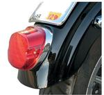 Drag Specialties Low Profile LED Taillight with Bottom Tag Light - Red Lens