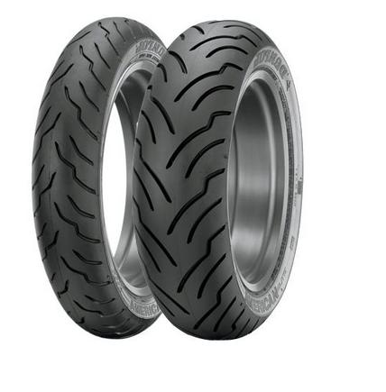 Dunlop American Elite Premium Replacement Tires - Front - 130/60-19 Blackwall