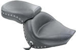 Mustang Studded Wide Touring Seat - Suzuki Boulevard C90 and T 2005-09