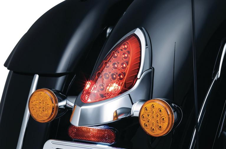 Kuryakyn Taillight Top Trim for Indian Models