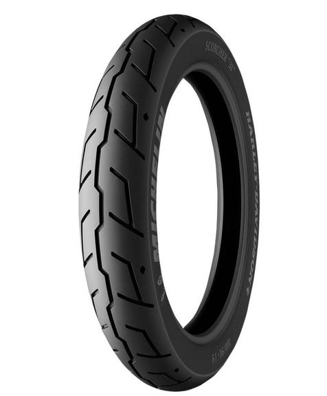Michelin Scorcher 32 Front Bias Ply Tire - 130/90-16
