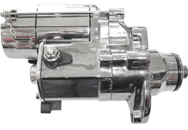 Terry Components Slugger 1.8kw Starter for 2007 - 2016 HD Models - Chrome