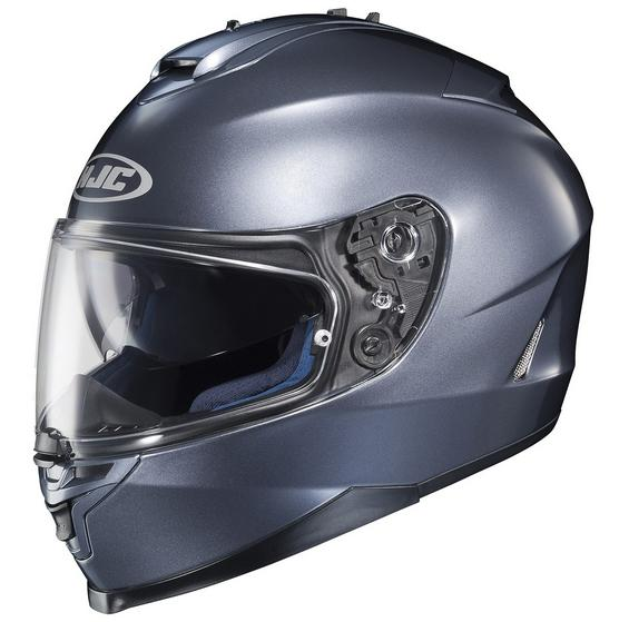 HJC IS-17 Solid Anthracite Helmet - Large