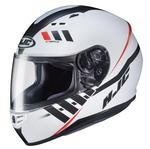 HJC CS-R3 Space Helmet - Semi Flat White / Silver - Large