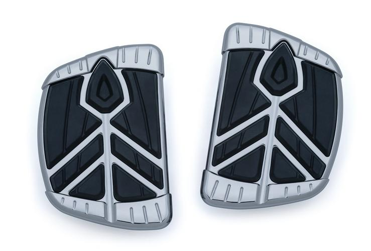 Kuryakyn Spear Mini Boards without Adapters - Chrome