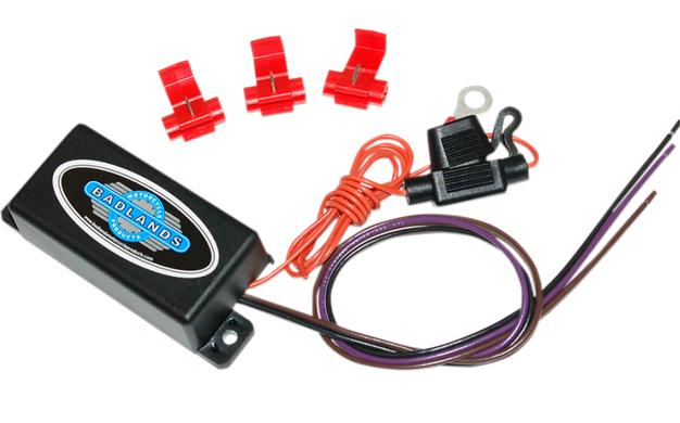 Badlands Hardwire Canbus Load Equalizer for 2014 - Up HD Models, 2011 - 2013 Softails & 2012 - 2013 Dyna