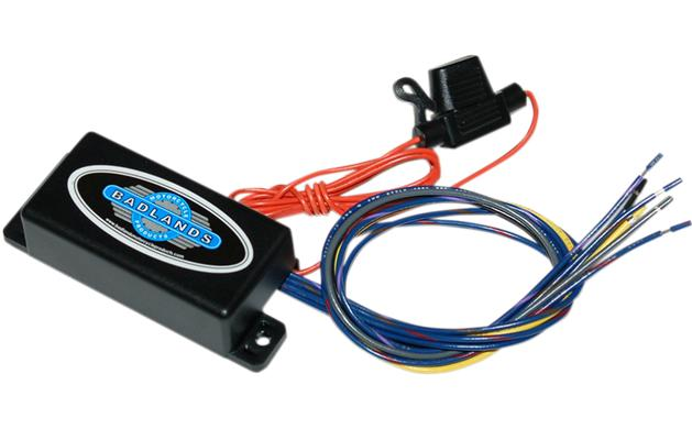 Badlands Illuminator Hard Wire Style Run, Brake and Turn Signal Module for 2011 - 2013 FXST & 2012 - 2013 Dyna