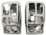 Drag Specialties Chrome Switch Housings for 2014 - 2017 HD Touring Models