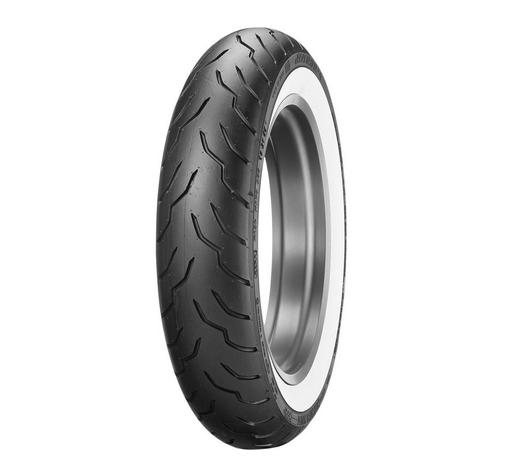 Dunlop MT90B16 72H American Elite Wide White Wall Front Tire