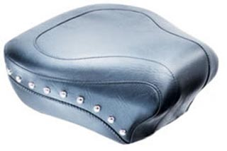 Mustang 14 Inch Studded Rear Seat for Softail Heritage Springer 2000-2003 & Deluxe 2005-2015 & Springer Classic 2006-2007 & Heritage Classic 2007-2015