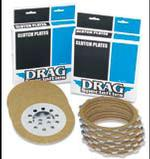 Drag Specialties Organic Friction Plate Kits for 1968 - 1984 Shovelhead Big Twin