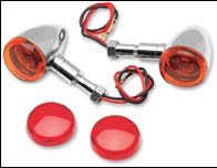 Mini Deuce Marker Lights with Amber and Red Lenses