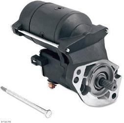 Drag Specialties High Performance Starter Motor for 1990 - 2006 Models - 1.4W Black
