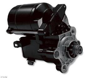 Drag Specialties High Performance Starter Motor for 1981 - 2015 XL - 1.4KW Black